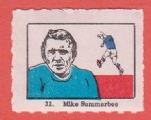 Manchester City Mike Summerbee England